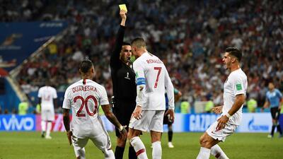 Árbitro mexicano reveló qué le dijo Cristiano Ronaldo en el Mundial