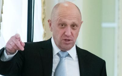 El empresario Yevgeny Prigozhin, aliado del presidente ruso, Vladimir Pu...