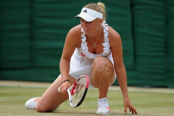 Wozniacki no ha podido lograr ningún Grand Slam en su carrera, pe...