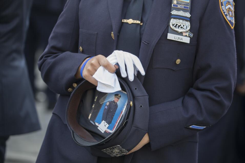 """""""Te amo, mamá. Gracias"""": la despedida de la hija de la oficial Miosotis..."""