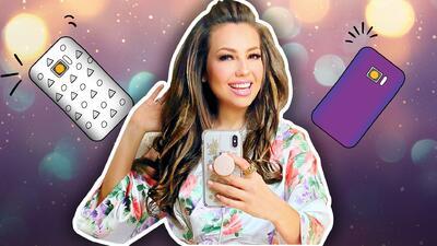 Thalía confiesa que no le basta con un celular, tiene dos: uno para llamadas y otro para… Instagram 🤦