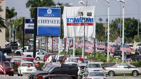 Concesionario Chrysler Jeep en el área de Kendall en Miami