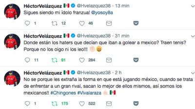 Reacciones en redes sociales: apoyo de otros deportes al Tricolor