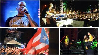 Miles se dieron cita al concierto de Calle 13