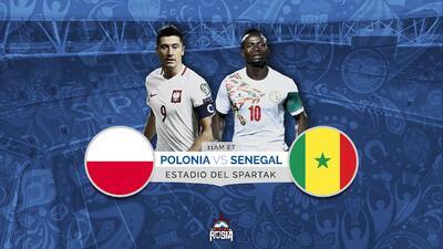 Polonia y su 'killer' Lewandowski debuta ante la enigmática Senegal