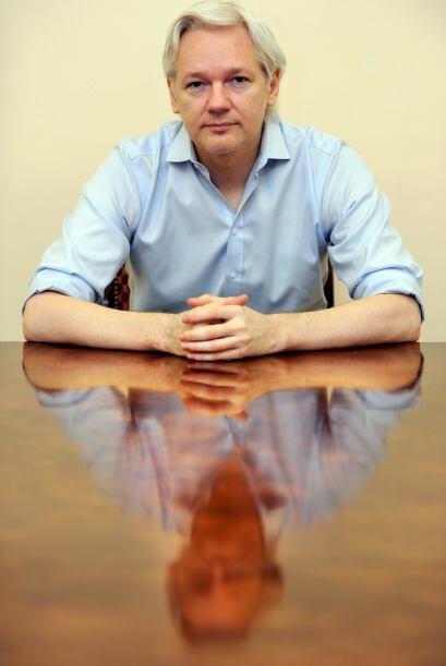 Julian Assange: Fundador de WikiLeaks, de 41 años, está t&...