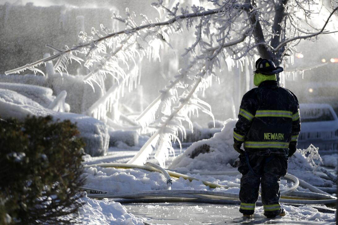 Incendio en Newark