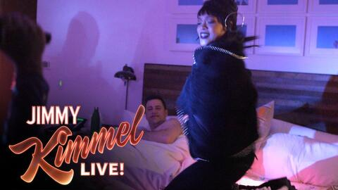 Rihanna Jimmy Kimmel