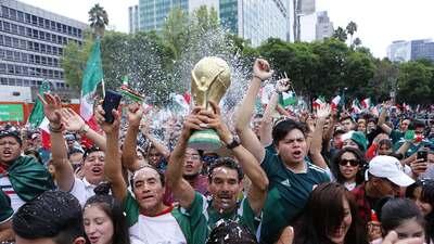 Afición mexicana confía en que México vencerá a Suecia