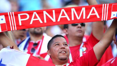 Las tribunas se llenaron de fiesta de Panamá y Bélgica en duelo inédito mundialista