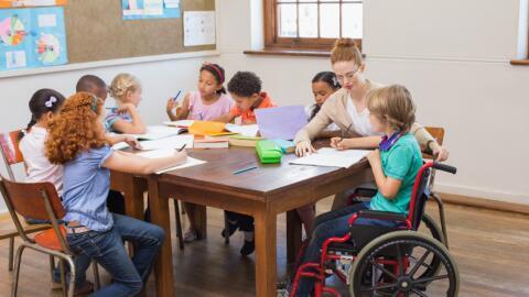 Niños con discapacidades