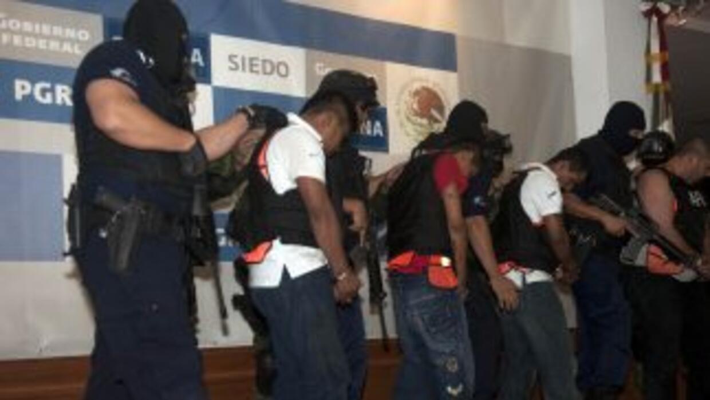 Un total de 31 presuntos integrantes del cartel de las drogas de Los Zet...