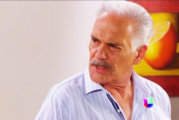 Prepárase don Agustín, porque le vienen terribles momentos.