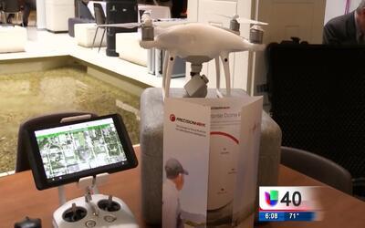 Compañías presentan a la Asamblea General los beneficios de un dron
