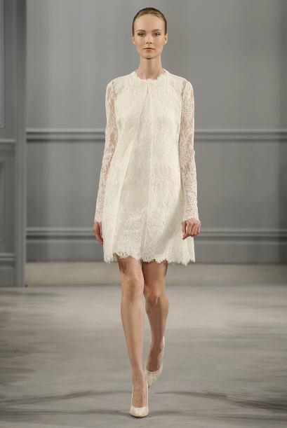 Este vestido nos parece el ideal para una boda 'country' y para una novi...
