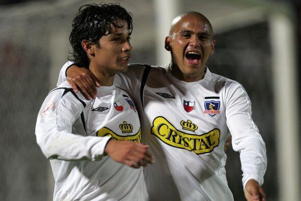 Por esas épocas, 'Chupete' formaba dupla con Matías Fernández...lo que g...