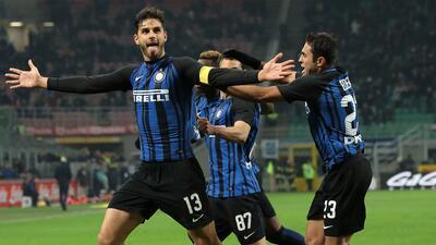 El Inter gana y se mantiene en puestos de Liga de Campeones