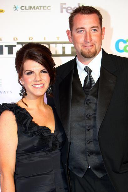 Brandon Webb y su encantadora esposa Alicia son grandes aficionados del...