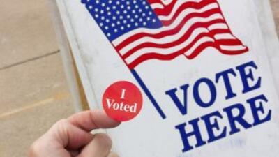 Los estadounidenses acuden a las urnas este martes 4 de noviembre para r...