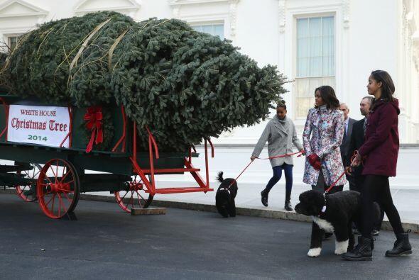Esta tradición de la familia presidencial no se limita a un &aacu...