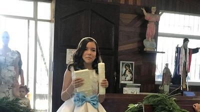 Poncho Lizárraga celebra en grande la primera comunión de su hija en Mazatlán, Sinaloa
