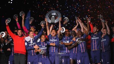 En fotos:  El valor mercado de los 10 equipos más fuertes de la Ligue 1 de Francia
