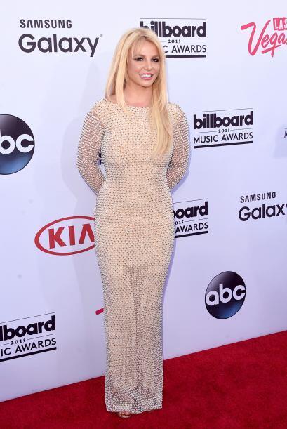 Esta fue la gran noche de Britney, quien presentó sobre el escenario su...