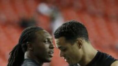 Roddy White cree que Tony González fue bendecido con una larga carrera (...
