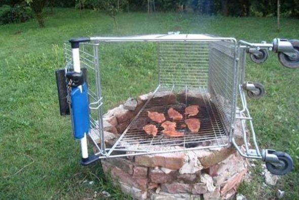 Otro ingenio para cocinar!  Foto Crédito: Twitter