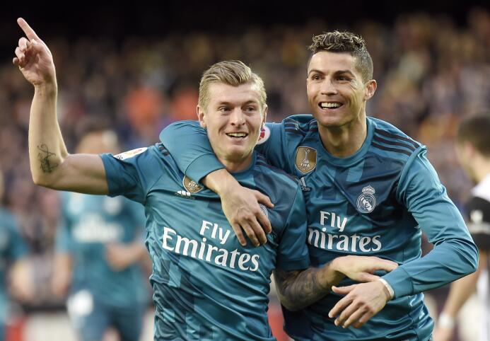 En fotos: Real Madrid goleó de visita a Valencia y sacudió su mal moment...