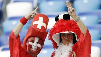 En fotos: el color del Suiza vs Costa Rica por el Grupo E del Mundial Rusia 2018
