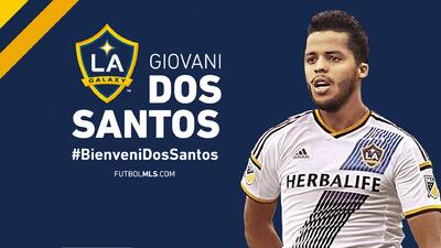 Giovani Dos Santos llega al LA Galaxy para ser figura y campeón.