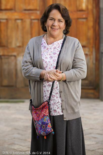 """Beatriz Moreno da vida a """"Dominga de Otero"""", la abuela de """"Lola"""". A pesa..."""