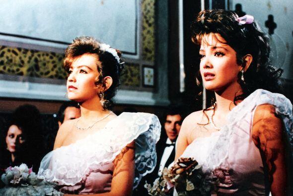 Thalía era su mejor amiga en esta telenovela.