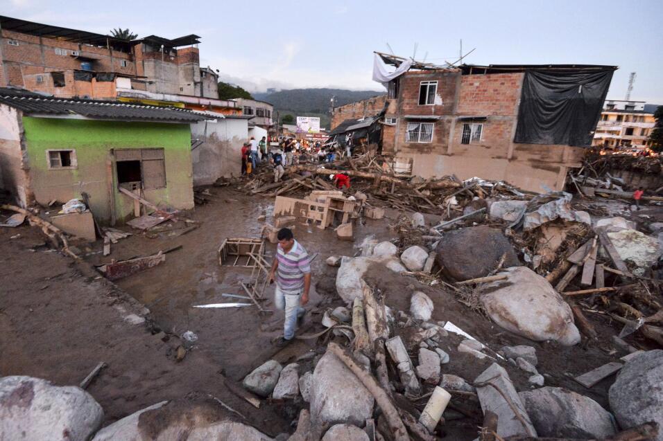 Partes de Mocoa han quedado sin suministro eléctrico.