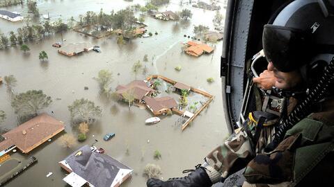 En septiembre de 2013, el huracán Ike devastó partes de Te...