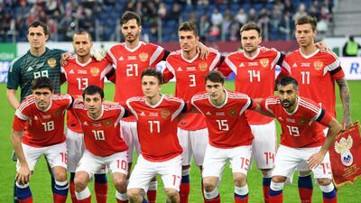Rusia, ¿el país sede más débil en temas futbolísticos?