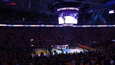 En fotos: Los Warriors de Golden State se desquitan y apalean a los Rockets de Houston