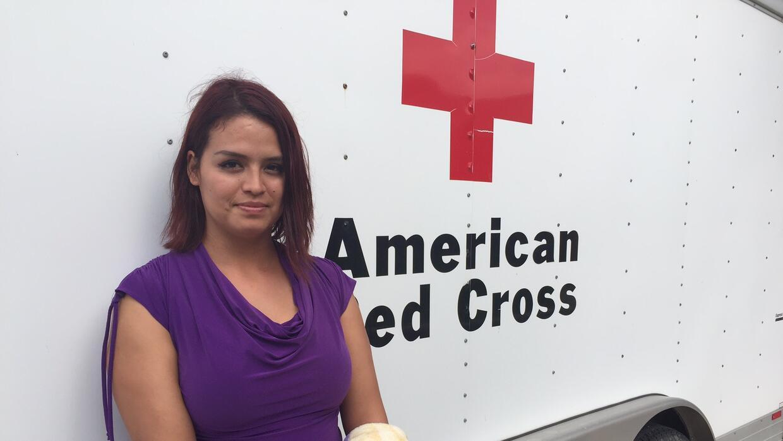 Ericka Luna viajó de Freeport a Dallas con su familia huyendo del...