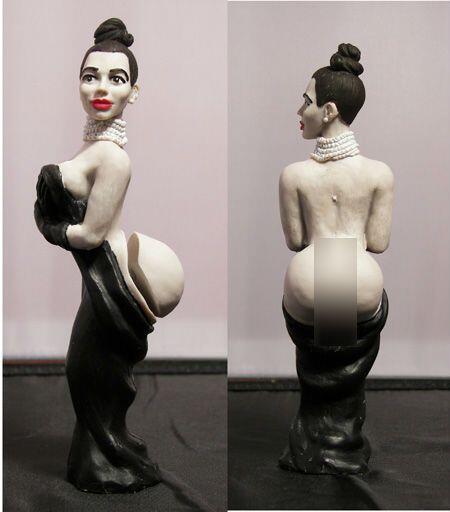Lanzan muñeca inspirada en las recientes fotografías de Kim Kardashian e...