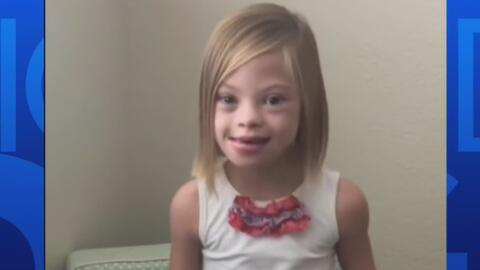 """""""Soy inteligente, soy generosa, soy capaz"""", el mensaje de una niña con s..."""