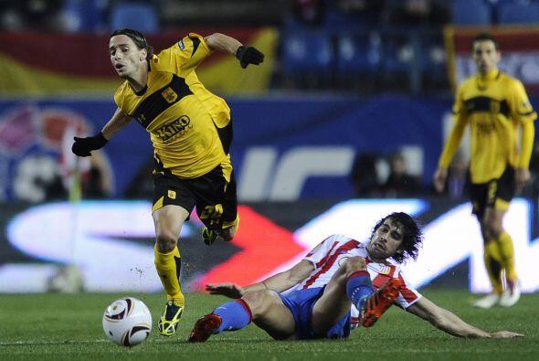El Atlético recibió al Aris Salónica griego, dirigi...