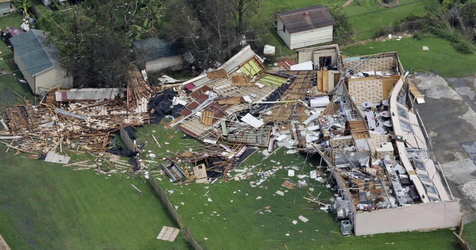 El huracán Ike azotó las costas texanas en el 2008