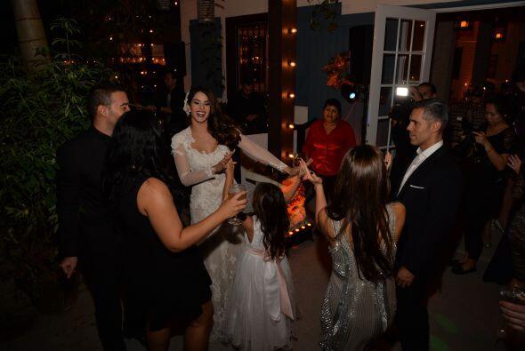 La novia bailó como nunca.