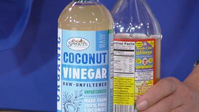 Usos, propiedades y beneficios del vinagre de coco y el de manzana