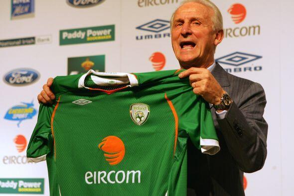 Giovanni Trapattoni, seleccionador de Irlanda en las eliminatorias a Sud...