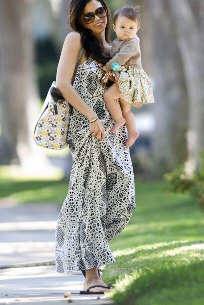 Fotos encontadoras de Jenna Dewan y su hija, Everly.  Mira aquí l...