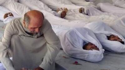 Denuncian ataque químico en Siria