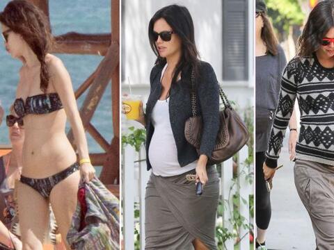 Así fue el embarazo de la actriz.