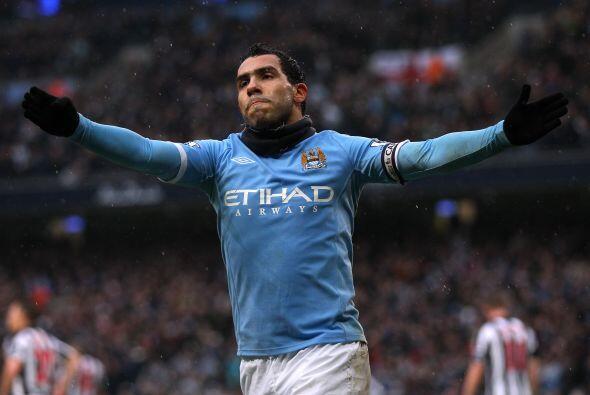 Tévez es capitán y símbolo del Manchester City. Inmejorable momento del...